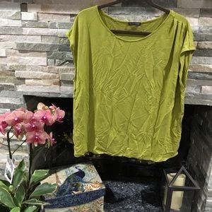 Green Eileen Fisher top